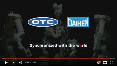 OTC Daihen 官方機器人動畫