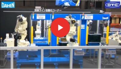 利用7軸機器人實現3個工位間的工序間搬運