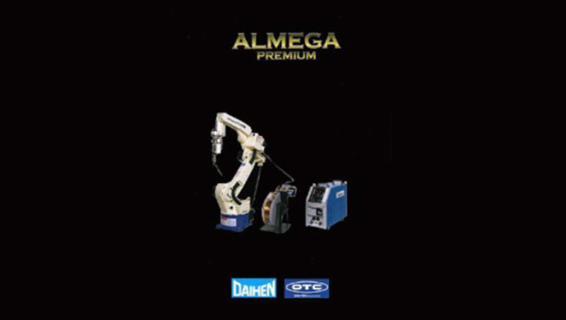 Launched last year, the highest level of OTC welding robot system ALMEGA PREMIUM