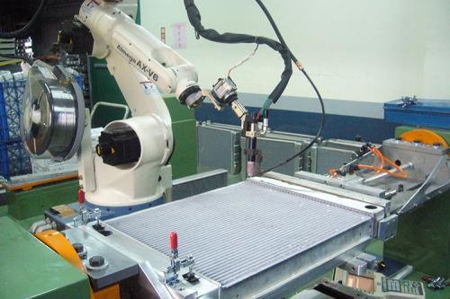 OTC TIG ROBOT 鋁合金自動填料