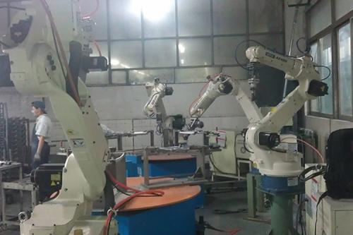OTC ROBOT研磨拋光應用