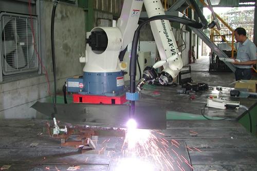 OTC ROBOT 電離子切斷應用