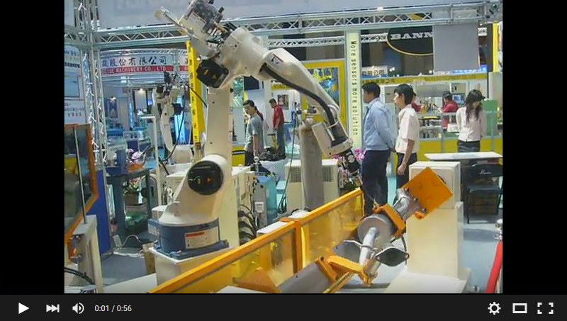 TaiSPO ROBOT with positioners