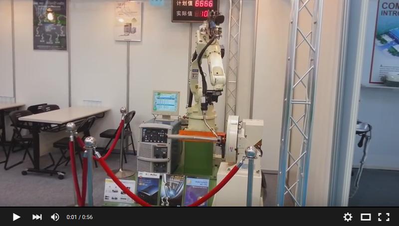 OTC ROBOT 自行车工件焊接
